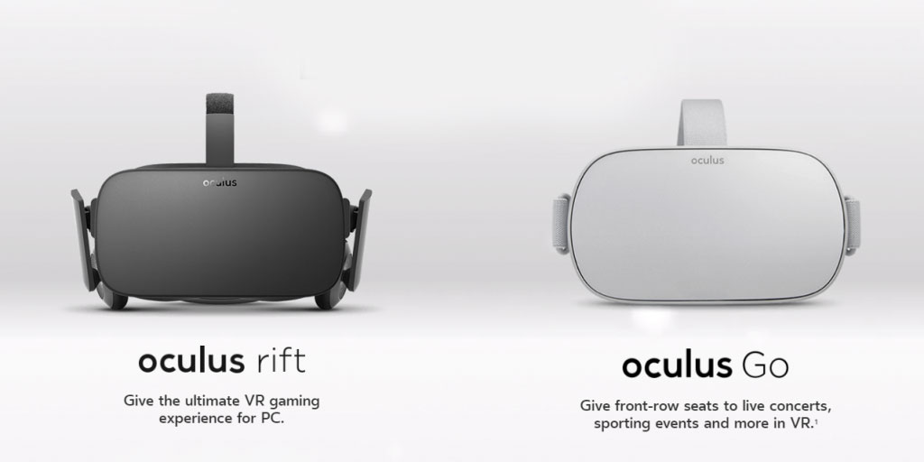 Oculus Rift and Go Technology