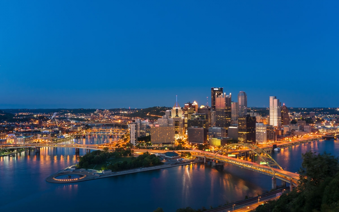 Pittsburgh Skyline Image by Wm. T. Spaeder