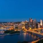 Pittsburgh Skyline Image by Wm. T. Spaeder