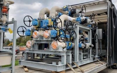 Skid Design & Pre-Fabrication for Georgia Power Plant