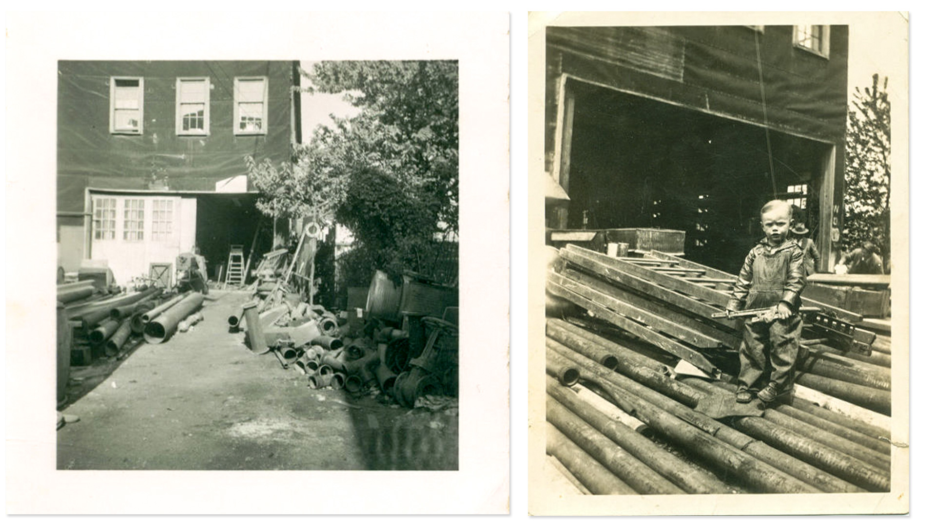 1920's Spaeder Shop in the backyard of Tim Spaeder's Grandparents