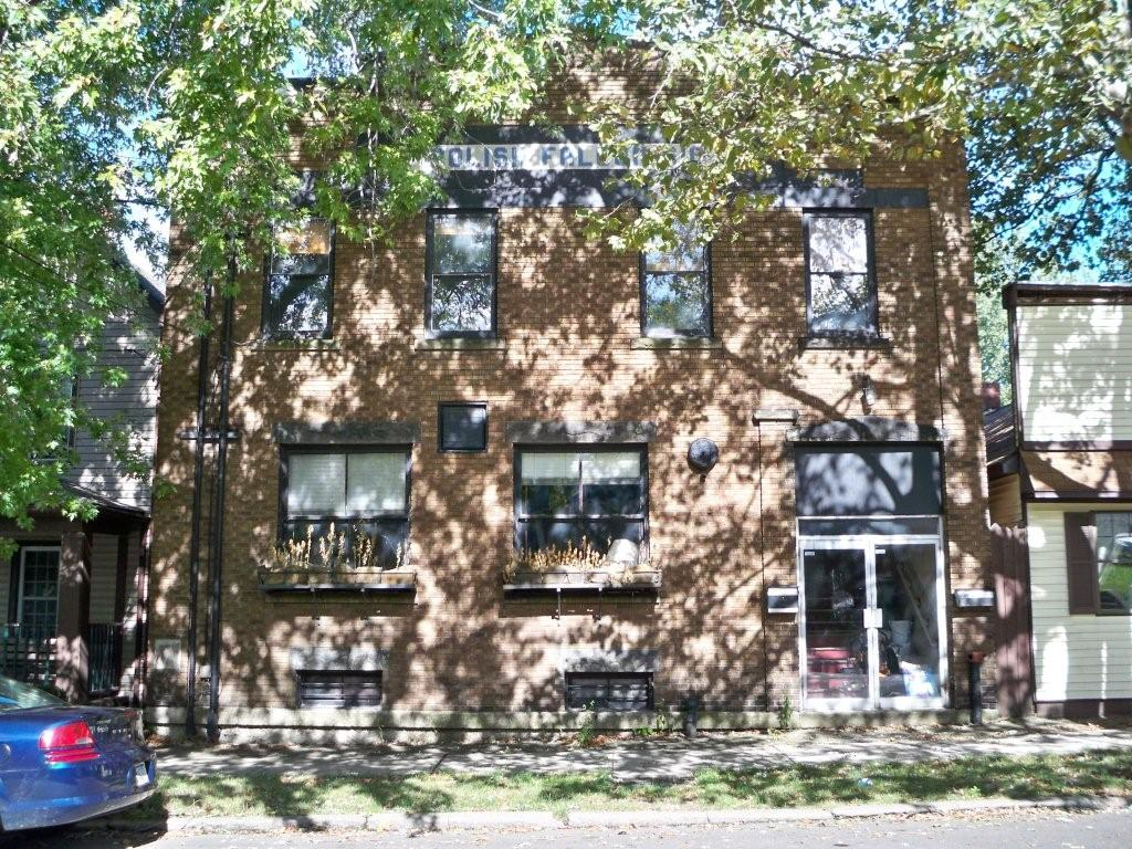 448 East Third Street Polish Falcons Club building before Wm.T. Spaeder