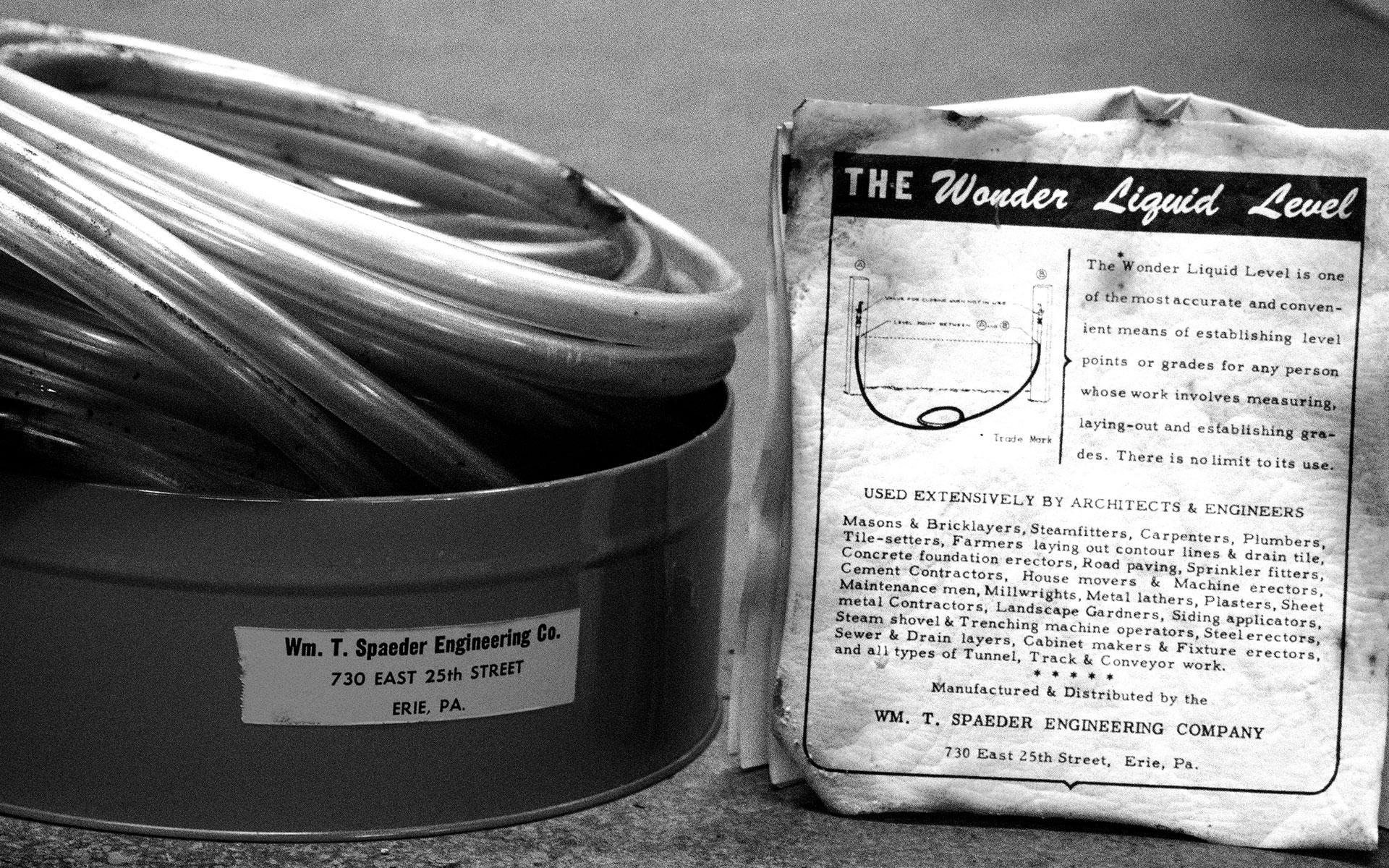 The Wonder Liquid Level by Wm.T. Spaeder in the 1960-1980's