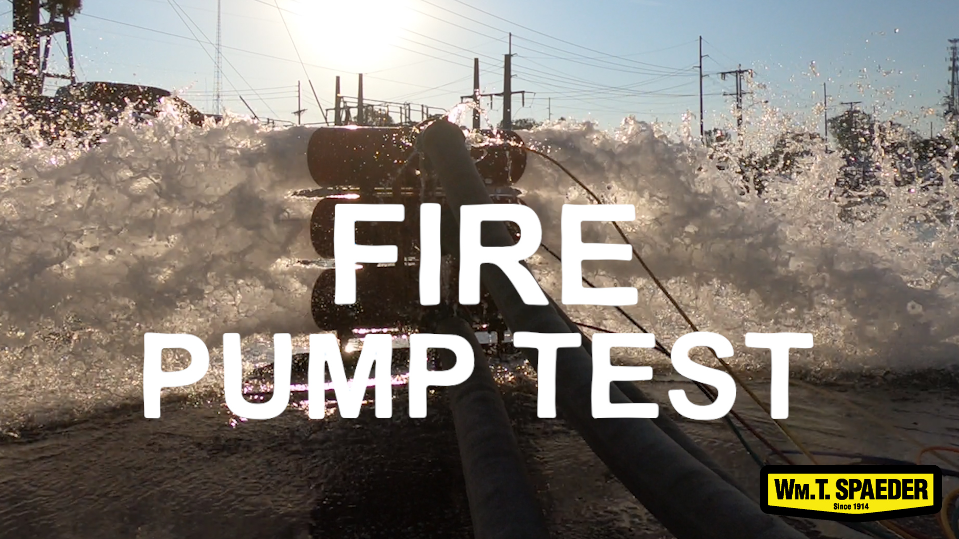 Why Fire Pump Testing Is Important Image by WM.T. Spaeder
