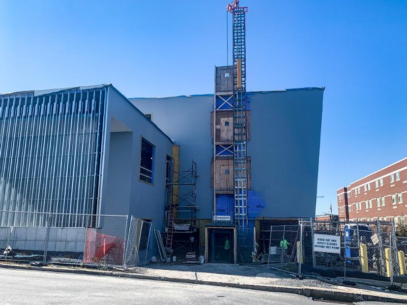 Altoona HS Under Construction – Exterior