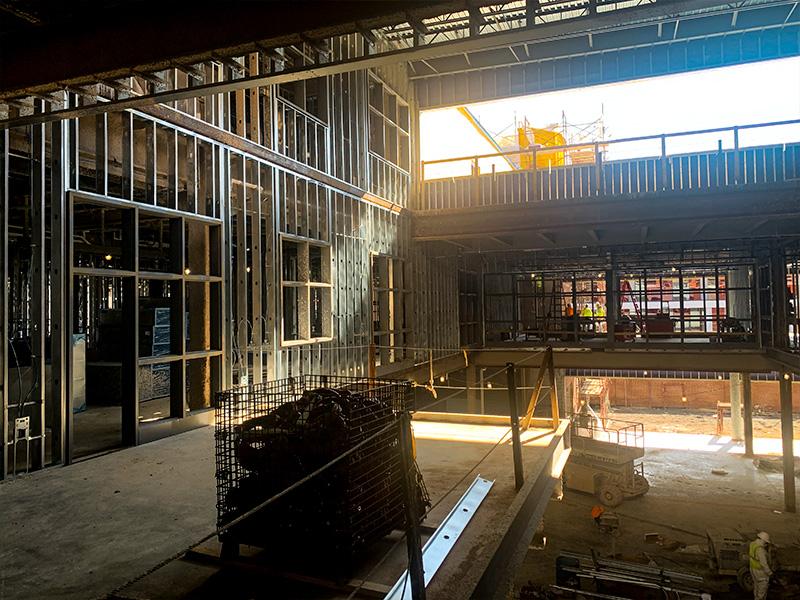 Altoona HS Under Construction – Interior