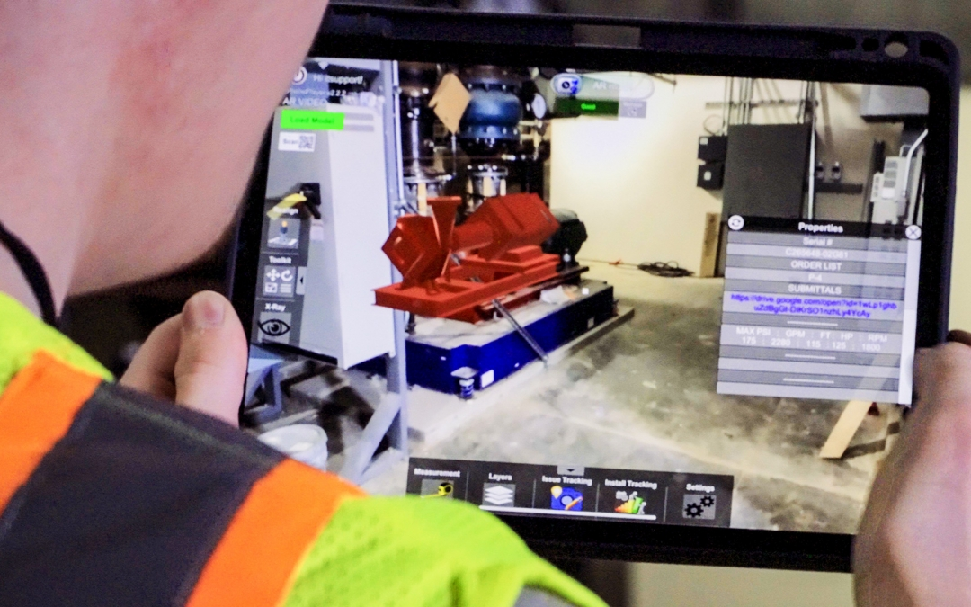 Augmented & Mixed Reality in Construction