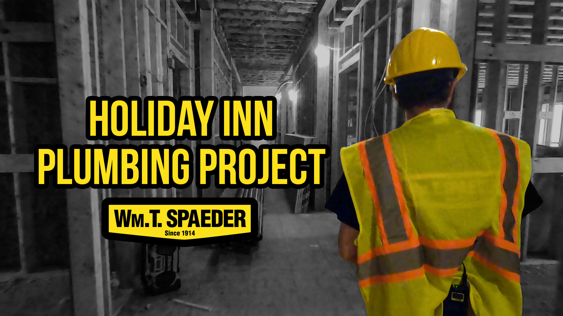 Holiday Inn Plumbing Project