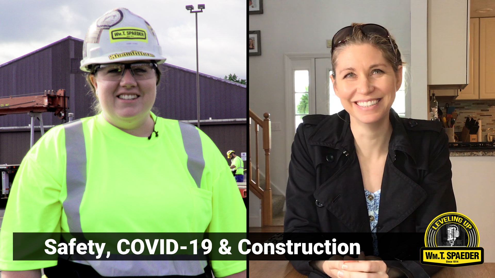 Podcast #6 – Safety, COVID-19 & Construction