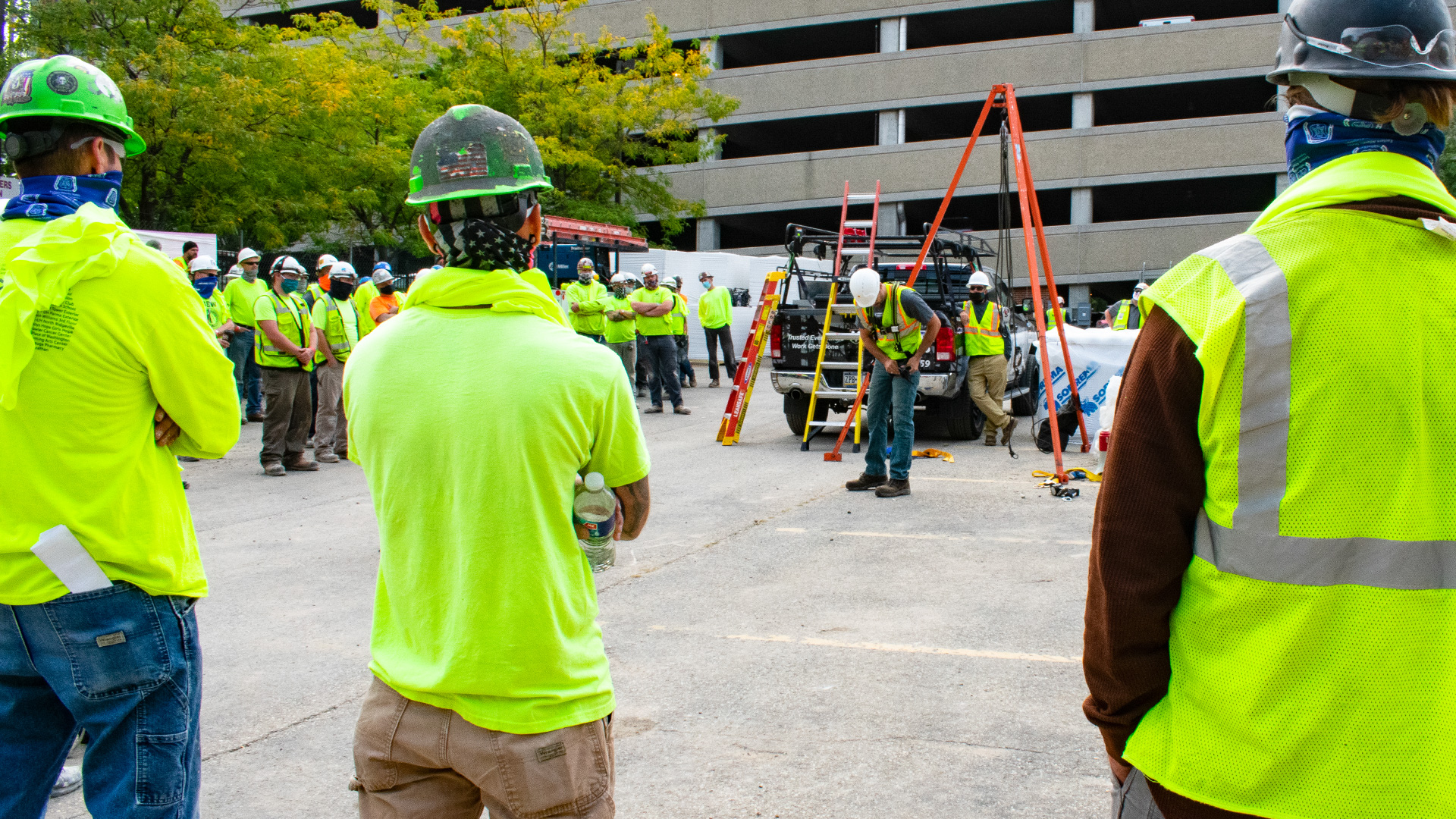 Fall Protection Stand-down Week 2020