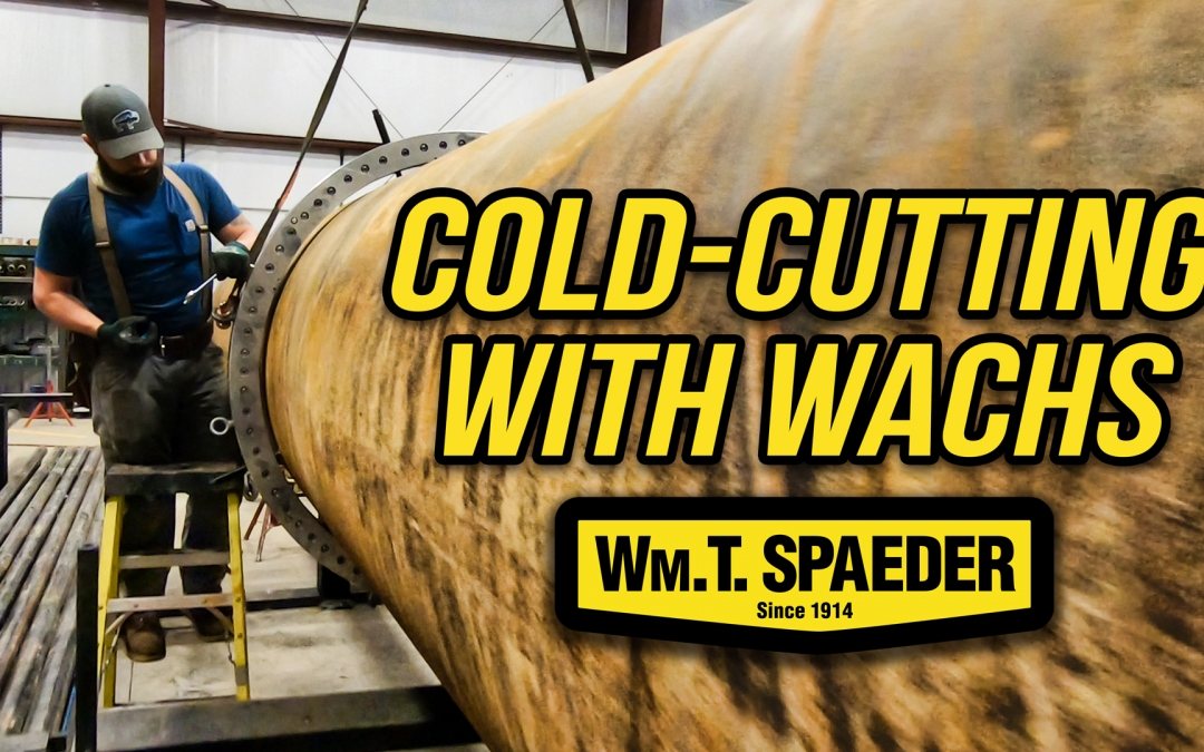 Cutting Massive Pipes with Wachs Cold Cutting Machine
