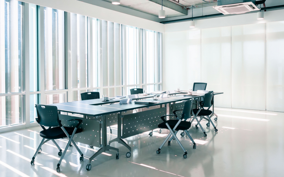 Good ventilation benefits everyone in an office environment.