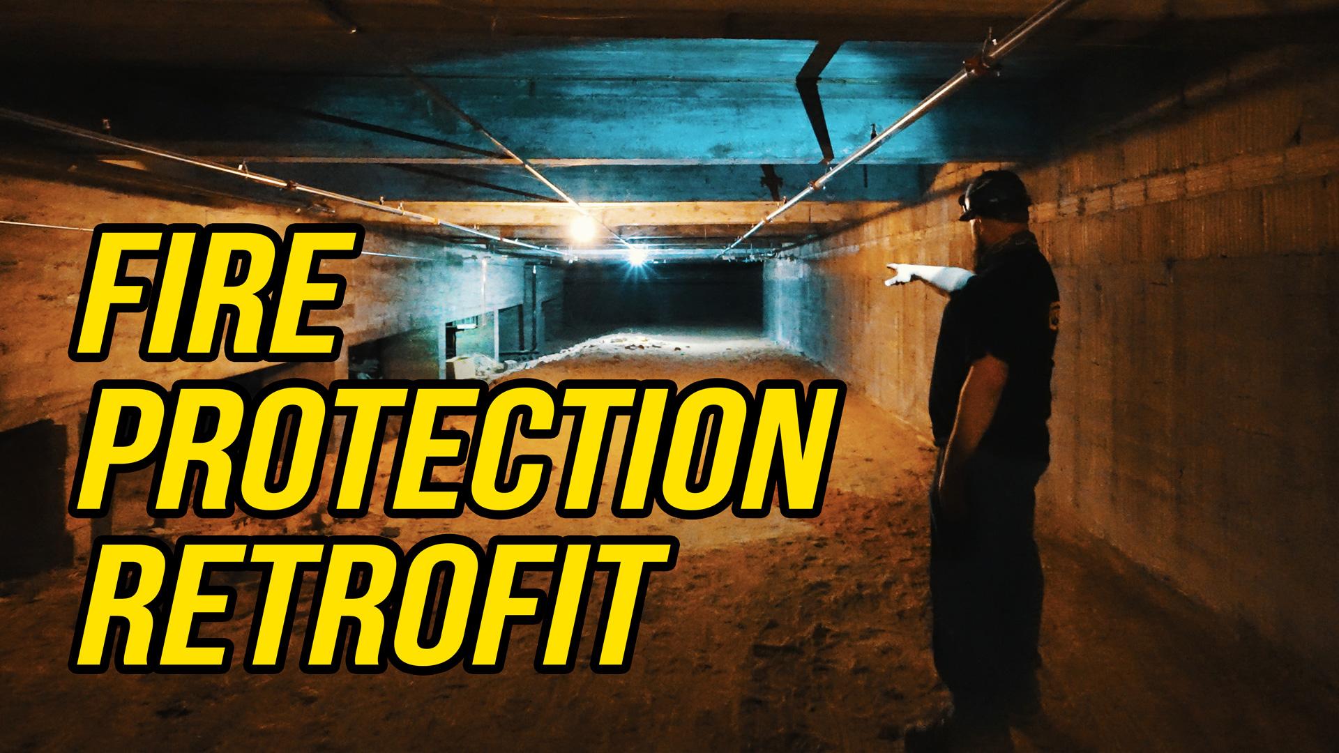 Fire Protection Retrofit - Underground Work